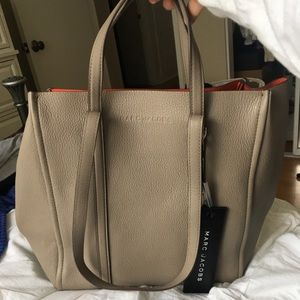 Brand New Marc Jacobs Tag Tote (Cement)